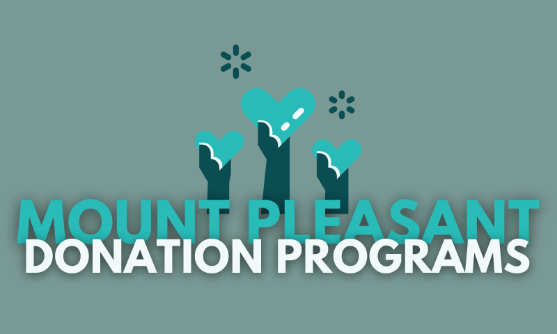 Mount Pleasant Donation Programs